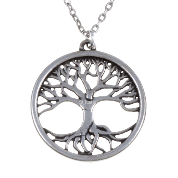 St justins tree of life pendant irish design st justins tree of life pendant aloadofball Choice Image