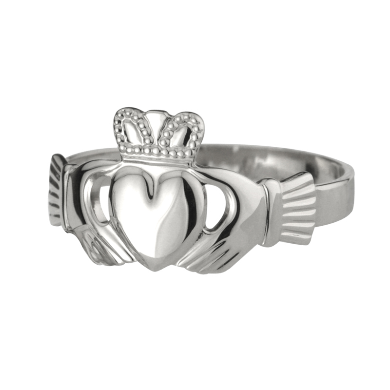 S2272-STERLING-SILVER-GENTS-HEAVY-CLADDAGH-27.25-CAD-1
